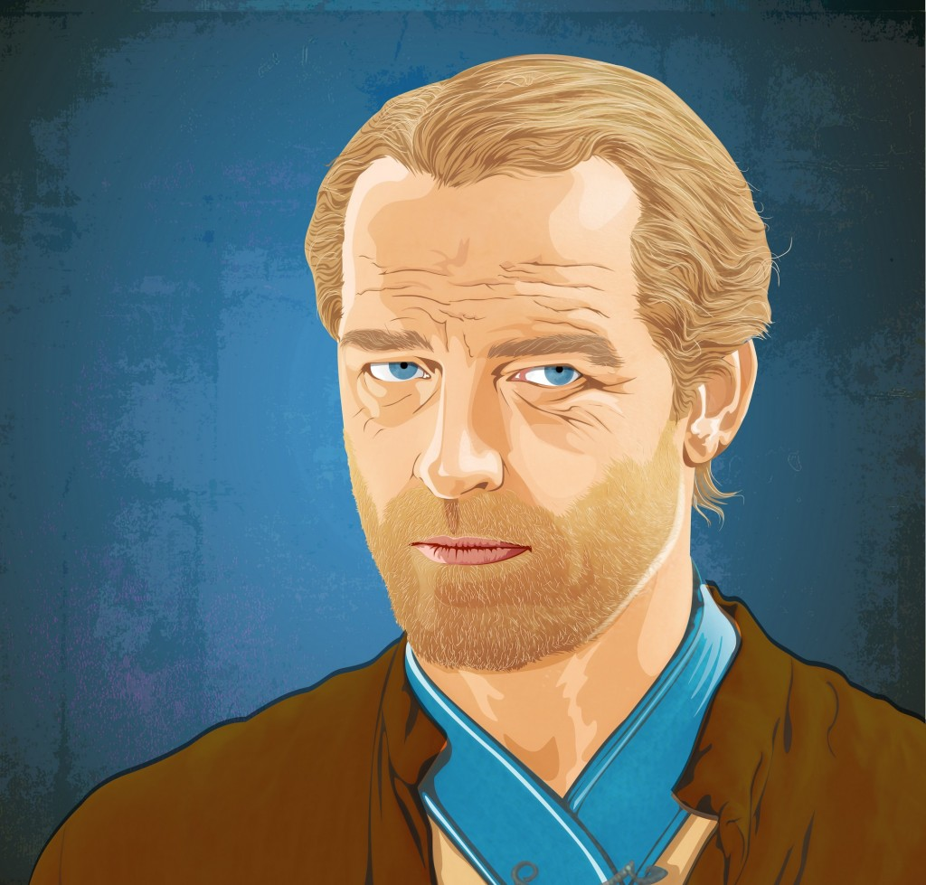 Ser Joras Mormont – beloved knight in graphic style